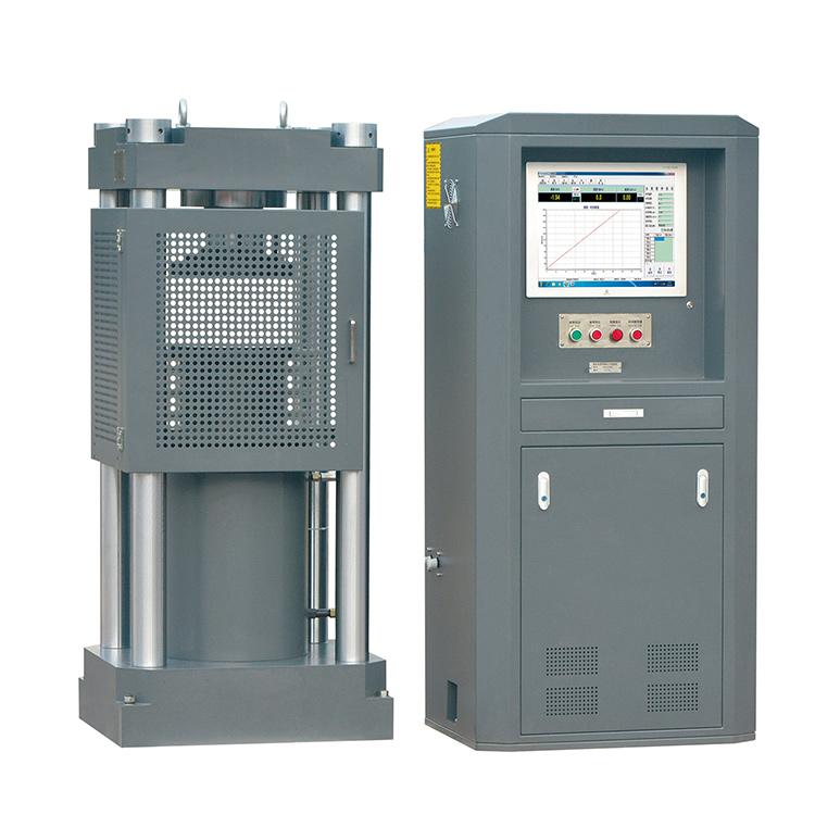 福建1000吨微机控制电液伺服压力试验机