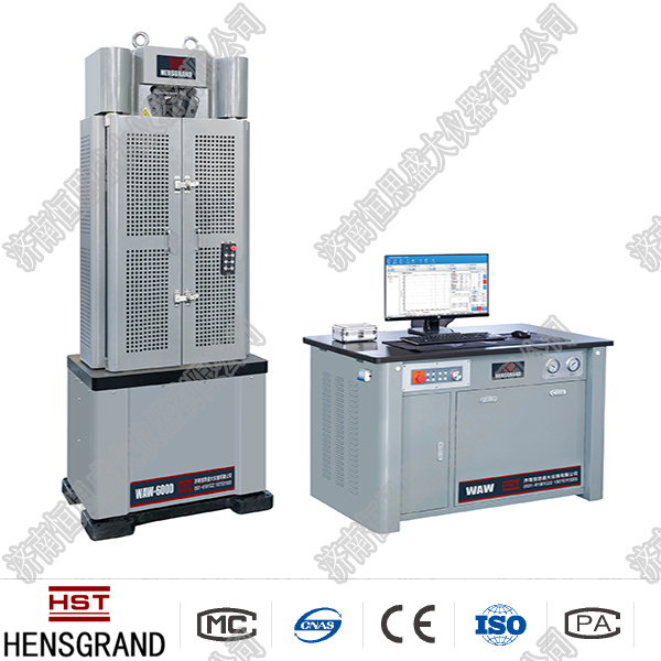 全国WAW-600G微机控制电液伺服万能试验机